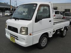 サンバートラックTB エアコンパワステ5速シフト4WD