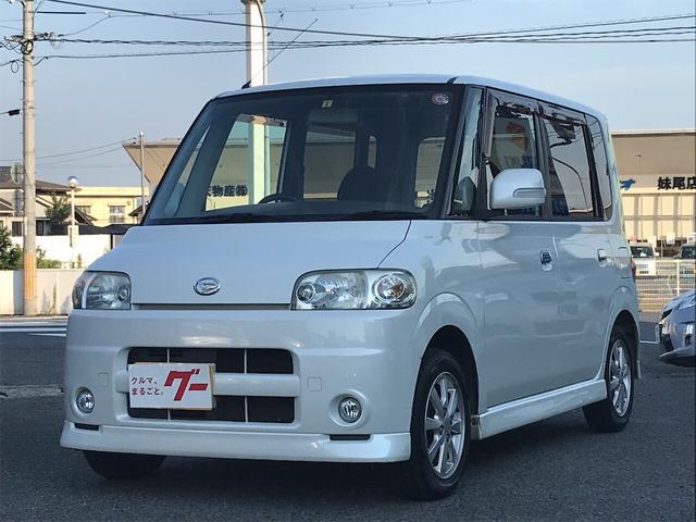 ダイハツ タント VS ナビ 軽自動車 パールホワイトIII AT AC AW