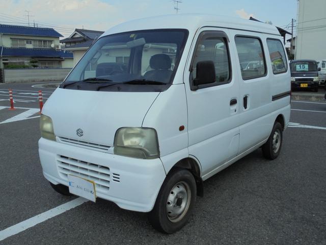 スズキ PA AC PS 3AT ホワイト 軽バン 車検付
