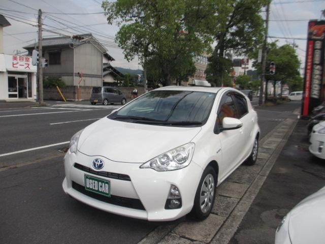 トヨタ S プッシュスタート ロング保証 純正ナビTV