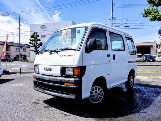 ダイハツ スペシャル エアコン オートマチック 軽バン ホワイト