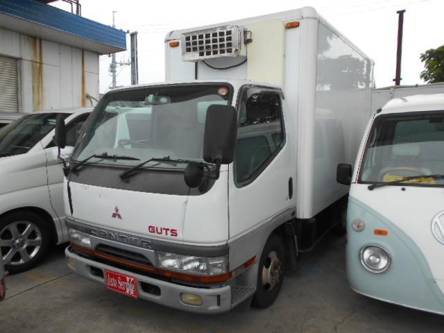 三菱ふそう 冷蔵冷凍車 オートマ ディーゼル 1,5トン積