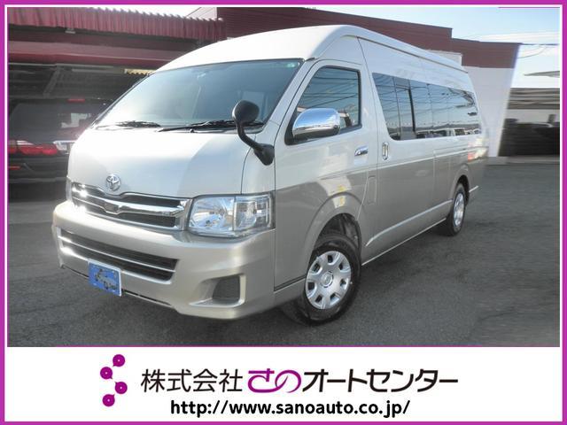 トヨタ グランドキャビン 4WD SDナビ フルセグTV DVD再生可 bluetoooth フリップダウンモニター バックカメラ LEDヘッドライト