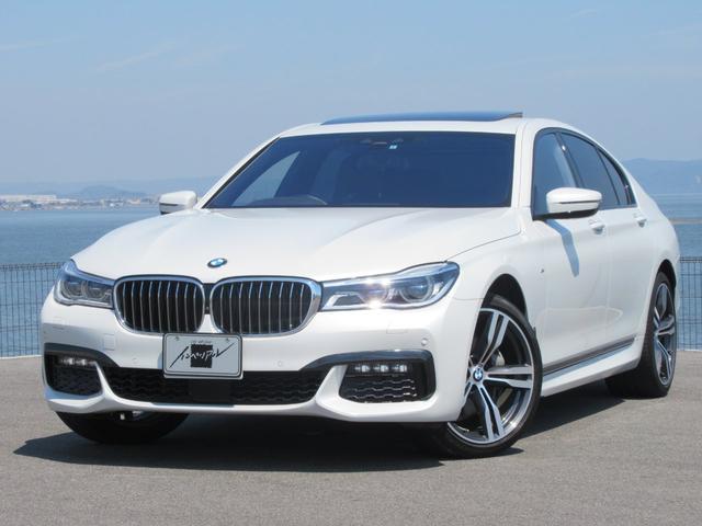 BMW 740i Mスポーツ ワンオーナー サンルーフ 革シート