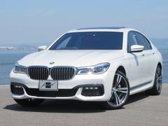 BMW740i Mスポーツ ワンオーナー サンルーフ 革シート