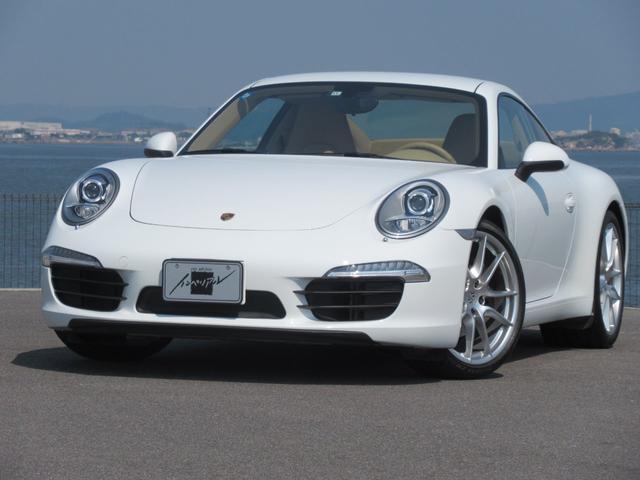 ポルシェ 911カレラ スポーツクロノ ベージュ革シート 左ハンドル