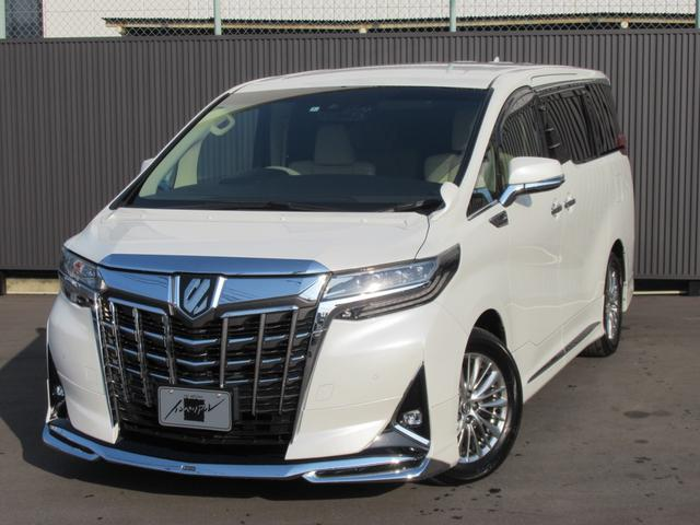 トヨタ 3.5GF モデリスタエアロ デジタルインナーミラー ドラレコ 純正10インチナビTV&フリップダウンモニター 3眼LEDヘッドライト パワーバックドア