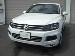 VW トゥアレグV6 ブルーモーションテクノロジー 全方位モニター 純正ナビ