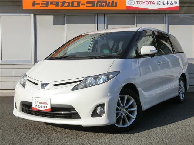 トヨタ 2.4アエラス Gエディション 全国対応保証付き 純正7インチナビ CD バックモニター Bluetooth ETC オートクルーズ