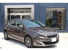 プジョー 308Allure 当社デモカー 新車保証継承