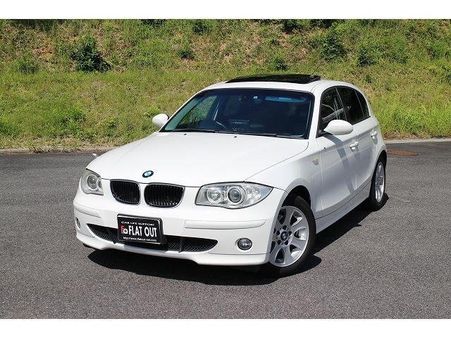 BMW 1シリーズ 118i サンルーフ ストラーダナビ グー鑑定...