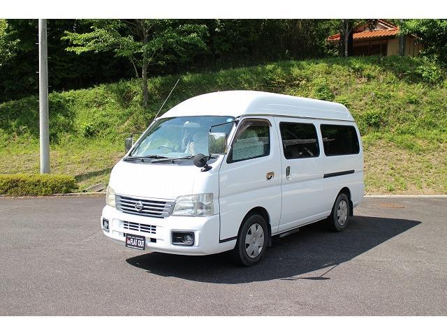 「日産」「キャラバンコーチ」「ミニバン・ワンボックス」「岡山県」の中古車