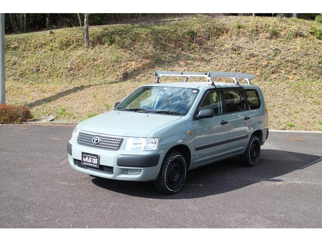 トヨタ TX リフトアップ ホワイトレタータイヤ ルーフラック