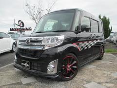 タントカスタムRS トップエディションSA 車高調 Goo鑑定車
