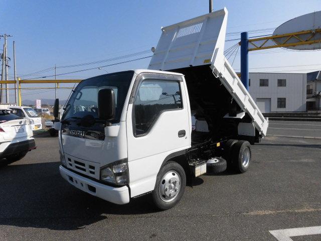 いすゞ エルフトラック 強化ダンプ2t全低床 4800D フル装備...