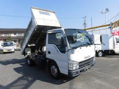 エルフトラック強化フルフラットローダンプ3トン積み6速 4ナンバー