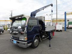 エルフトラック積載4トン3段クレーンラジコン付 荷台内寸2890×1810