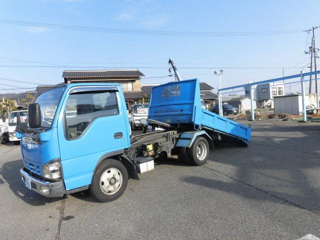いすゞ エルフトラック 強化ダンプ ロ-ダ-ダンプ 積載量 3トン積み 4800 花見台 5速 フル装備 荷台内寸 L315 W160 H38 NOXPM 適合