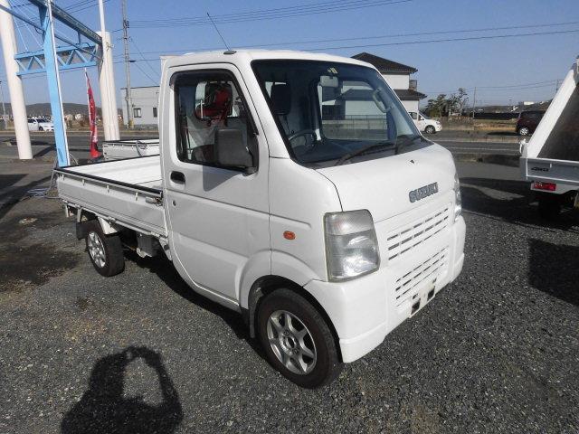 スズキ キャリイトラック KCエアコン・パワステ 切り替え式4WD 5速