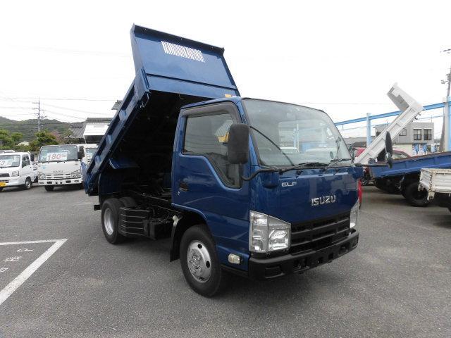 いすゞ エルフトラック ダンプ 4WD強化ダンプ 3トン 4ナンバ- フル装備