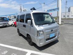 サンバーバンディアス 5速 4WD フル装備 両席エアB ETC ドアロック CD リアヒーター