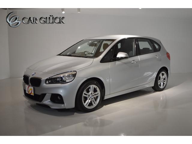 BMW 218dアクティブツアラー Mスポーツ ワンオーナー インテリジェントセーフティ コンフォートPKG(パワーテールゲート コンフォートアクセス ライトPKG) 純正ナビ Bモニタ TVチューナー MスポーツAW LEDライト ETC 記録簿