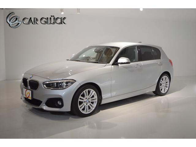BMW 1シリーズ 118d Mスポーツ ワンオーナー インテリジェントセーフティ 純正ナビ バックモニター フロントカメラ クルーズコントロール 純正17AW LEDライト ドライブレコーダー ETC 記録簿