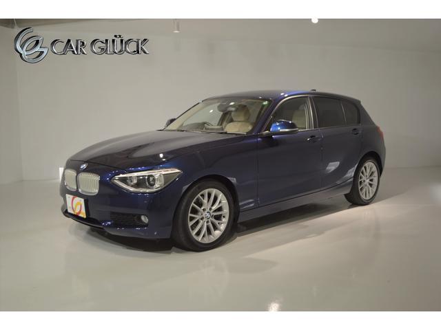 BMW 116i ファッショニスタ 限定車 ファッショニスター専用エクステリア インテリア オイスターレザーシート ヒーター インテリジェントセーフティ コンフォートアクセス 純正ナビ バックモニター カロッツェリアTVチューナー