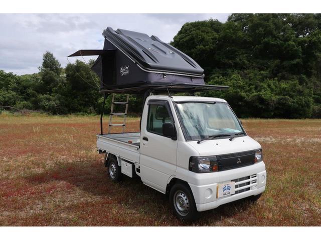 三菱 VX-SE ルーフテント 軽トラキャリア付き