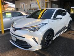 C−HRG 本革シート モデリスタエアロ 純正9型SDナビ 禁煙車