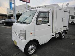 キャリイトラック冷蔵冷凍車 −5℃ 4WD エアコン パワステ付