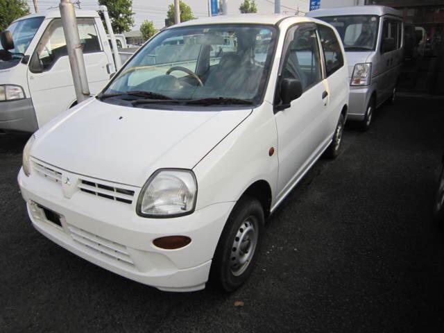 三菱 ライラ 軽自動車 ホワイト 車検整備付 保証付 AC