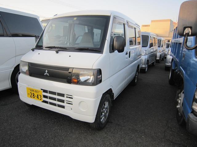 三菱 ミニキャブバン CD オートマ エアコン パワステ 2WD ハイルーフ