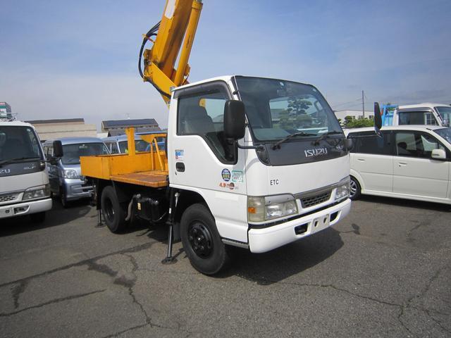 いすゞ エルフトラック  高所作業車 アイチSS10A ディーゼル 5速マニュアル