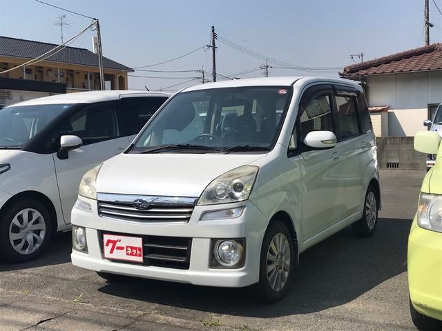 スバル カスタムR 軽自動車 CD 修復歴無 車検整備付