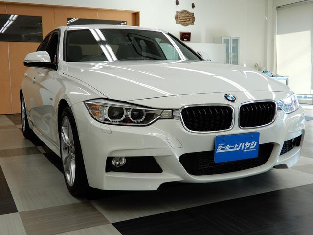 BMW 320i Mスポーツ/18アルミ/禁煙車/パドルシフト