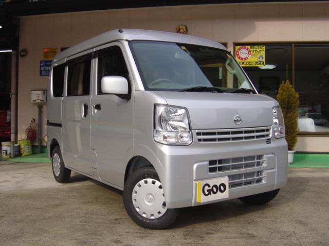 日産 GX 4WD 4AT エマージェンシーブレーキ 未使用車