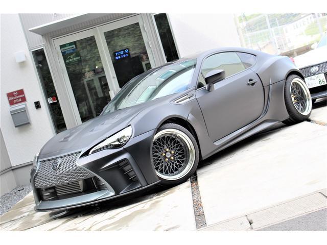 トヨタ GT スーパーチャージャー GT-F ワイドボディデモカー