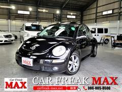 VW ニュービートルベースグレード サンルーフ 黒革 ディーラー車