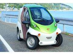 トヨタコムス 小型電気自動車 ドア付き 100V家庭充電