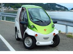 トヨタコムス 100V家庭充電 電気自動車 デリバリーBOX