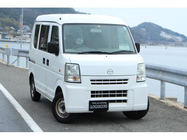 「マツダ」「スクラム」「軽自動車」「岡山県」の中古車