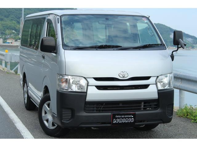トヨタ ロングDX ディーゼル Tベルト交換済 ETC シートカバー