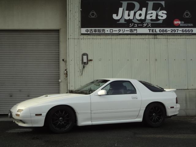 マツダ GT-X 車高調 マフラー 17インチ