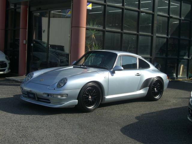 911 911カレラ クーペI エクスクルーシブ 限定車 内装カーボンパネル 車高調 社外アルミ ETC ナビ 黒革シート