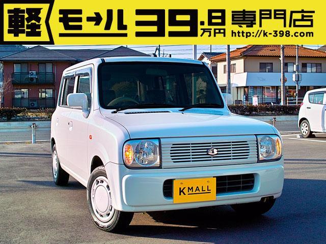スズキ G キーレス オートマ ベンチシート CD 1年保証付 軽四