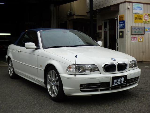 BMW 330Ciカブリオーレ ワンオーナー 左ハンドル 禁煙車