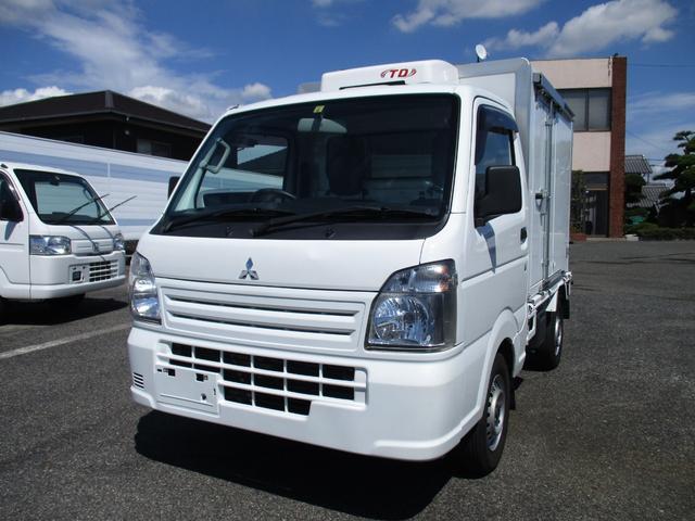 三菱 ミニキャブトラック 冷蔵冷凍車 -5度設定 2コンプレッサー オートマ車 左スライドドア スノコ付き