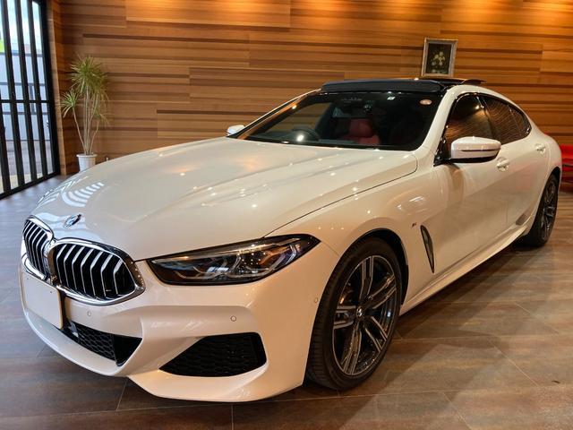 BMW 840i グランクーペ Mスポーツ ユーザー様買取車 ディーラー車  純正HDDナビ フルセグ 360ビューモニター アクティブクルーズ インテリジェントセーフティ メモリー付パワーシート パノラマサンルーフ 本革シート 純正ドラレコ