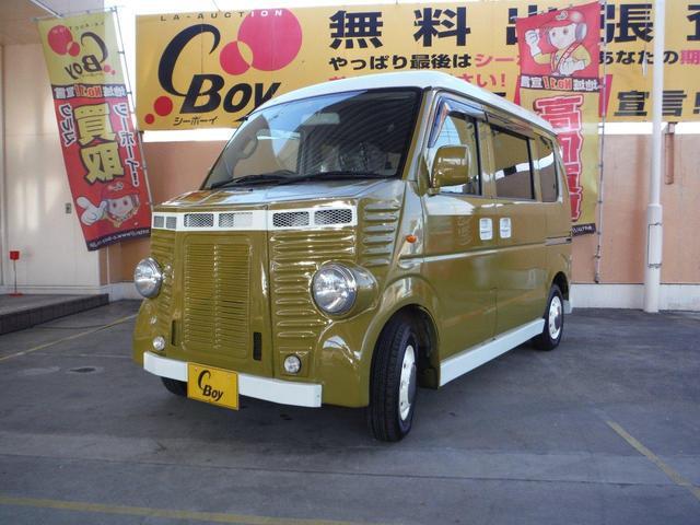 スズキ PC フレンチバス仕様 ハイルーフ シートカバー ナビ